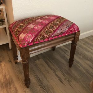 Moroccan Bench. Like brand new